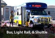Bus, Light Rail & Shuttle Incentive Program