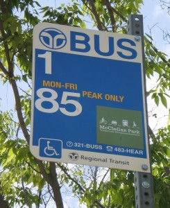 McClellan Park Shuttle Stop